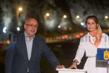 Klippen-Beleuchtung in Las Palmas am Strand La Laja fertiggestellt