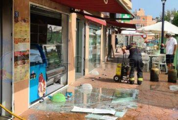 Explosion in einer Cafeteria in Arguineguin