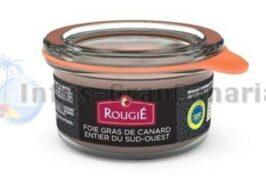 WARNUNG: Glassplitter in Foie Gras!