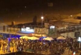 Video: Massenparty am Anexo II erregt die Gemüter