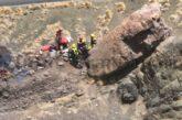 VIDEO - Wanderer drohte in Agaete in eine Schlucht zu stürzen - Gerettet!