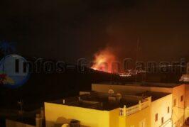Kleiner Waldbrand bei Las Palmas (San Lorenzo) - Stabilisiert
