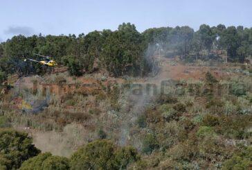 Brände in Santa Brígida & Moya halten Feuerwehr auf Trab