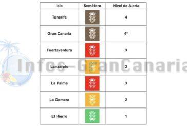 Corona-Ampel Kanaren: Gran Canaria rauf auf BRAUN - Hier die Regeln