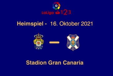 Heimspiel UD Las Palmas gegen CD Teneriffa
