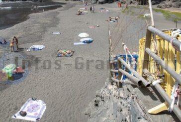 Gammelige Strände im touristischen Herzen - Playa Aguila & Pirata verrotten