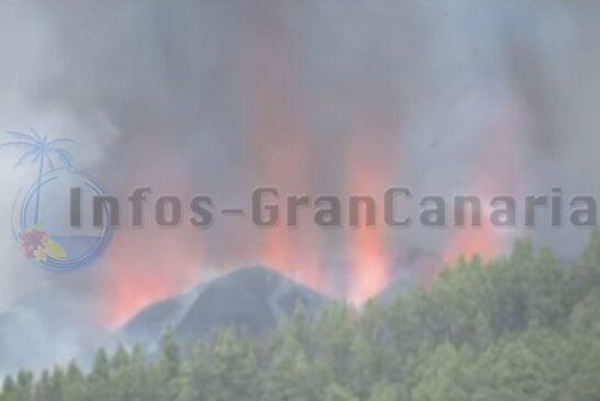 Aubruch des Vulkans La Palma