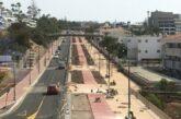 Bauarbeiten an GC-500 zwischen Playa del Inglés & San Agustín gehen weiter