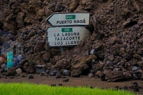 Die Lava verschlingt alles