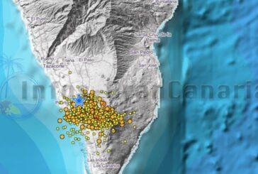 Seismische Aktivität aus La Palma intensiviert sich - Vulkan-Warnstufe GELB bleibt erhalten