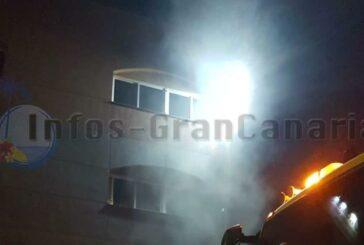 Feuer in Industrie-Wäscherei in Agüimes (Arinaga)