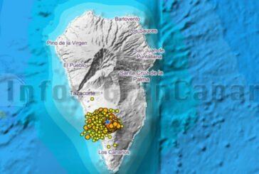 Auf La Palma wurde eine Magma-Kammer entdeckt - Oberfläche um 10cm verformt