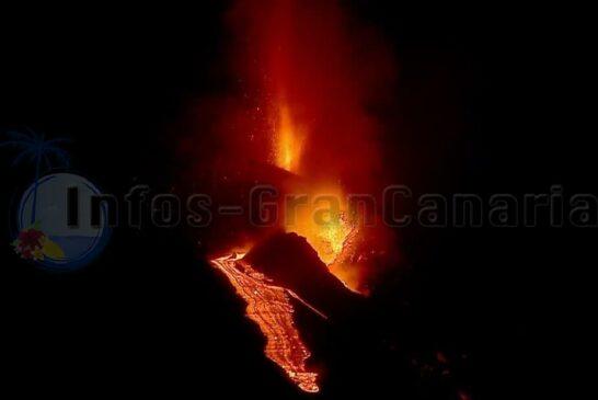 Neuer Lavafluss entstanden
