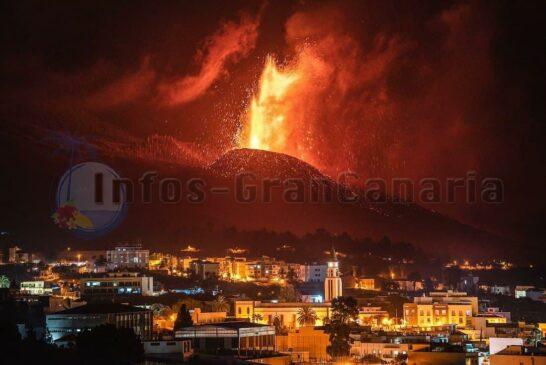 TICKER: Vulkanausbruch 🌋 auf La Palma - Ausbruch hält an