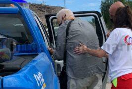 80-jähriger Tourist mit E-Rollstuhl auf der GC-1 bei Maspalomas aufgegriffen