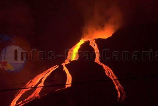 Vulkanausbruch La Palma hält an